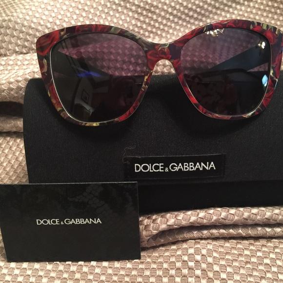 Rose Print Rose Dolceamp; Print Dolceamp; Sunglasses Dolceamp; Rose Print Gabbana Gabbana Sunglasses Gabbana eb9YWDEHI2